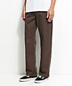 Blind jeans estrechos en marrón