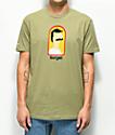 Bob's Burgers x Habitat Burger camiseta oliva