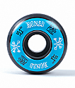Bones 100 Ringers 51mm Blue & Black Skateboard Wheels