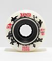 Bones ATF Roughriders 59mm White Skateboard Wheels
