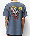 Bones Powell Peralta Shred Navy T-Shirt