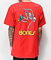 Bones Powell Peralta Skeleton Red T-Shirt