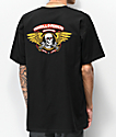 Bones Powell Peralta Winged Ripper Black T-Shirt