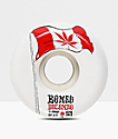 Bones STF Pro Decenzo Flowers 53mm Skateboard Wheels
