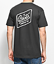 Brixton Bedford Washed Black T-Shirt