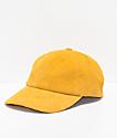 Brixton Belford Mustard Strapback Hat