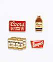 Brixton Coors Pin Pack Flight