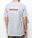 Brixton Dwell camiseta gris jaspeada