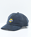 Brixton Garth Navy Corduroy Strapback Hat