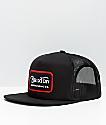 Brixton Grade gorra de camionero negra