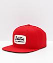 Brixton Jolt Red Snapback Hat