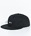 Brixton Langley Black Strapback Hat