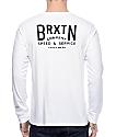 Brixton Langley White Long Sleeve T-Shirt
