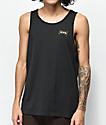 Brixton Missouri camiseta negra sin mangas