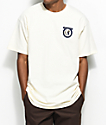 Brixton Native II Off-White T-Shirt