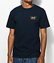 Brixton Normandie Navy T-Shirt