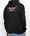 Brixton Palmer II Black & Red Hoodie