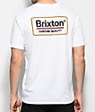 Brixton Palmer Premium camiseta blanca