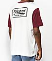 Brixton Palmer camiseta blancquecina