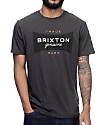 Brixton Ramsey Premium camiseta en lavado negro