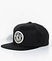 Brixton Rival Black & Gold Snapback Hat