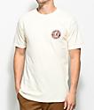 Brixton Rival II camiseta en color crema