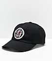 Brixton Rival III Black Strapback Hat