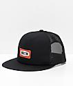 Brixton Rockford Black Mesh Snapback Hat