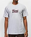 Brixton Stitch IV Heather Grey T-Shirt