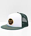 Brixton Wheeler Chive Green Mesh Snapback Hat
