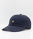 Brixton Wheeler Navy Strapback Hat