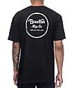 Brixton Wheeler camiseta negra