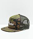 Brixton x Coors Signature gorra de camionero de camuflaje