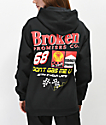 Broken Promises Don't Gas Me Up Black Hoodie