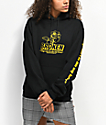 Broken Promises Evermore Black & Yellow Hoodie
