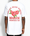 Broken Promises Forever Means Nothing camiseta blanca