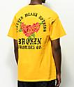 Broken Promises Forever camiseta dorada
