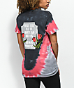 Broken Promises In Memory Red & Grey Tie Dye T-Shirt