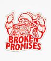 Broken Promises Krumpus pegatina
