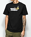 Broken Promises Monarch Black T-Shirt