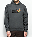 Broken Promises Monarch Grey Hoodie