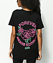 Broken Promises Neon Black T-Shirt