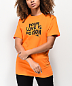Broken Promises Poison Rose Orange T-Shirt