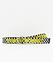 Broken Promises Scorpion 2Tone Black & Yellow Web Belt