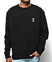 Broken Promises Thornless Black Crew Neck Sweatshirt
