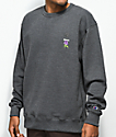 Broken Promises Thornless Granite Crew Neck Sweatshirt