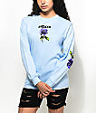 Broken Promises Thornless Powder Blue Long Sleeve T-Shirt