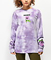 Broken Promises Thornless Purple Washed Long Sleeve T-Shirt