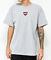 Broken Promises Trio Embroidered Steel Grey T-Shirt