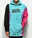 Broken Promises Wave Logo Tie Dye Hoodie